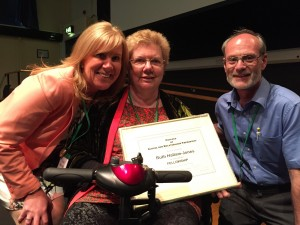 Ruth Hallam Jones is awarded Fellowship of COSRT at the Summer conference